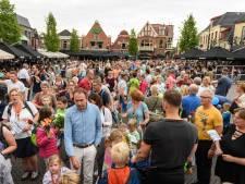 Alleen maar vrolijke gezichten bij intocht wandelaars in Oldenzaal