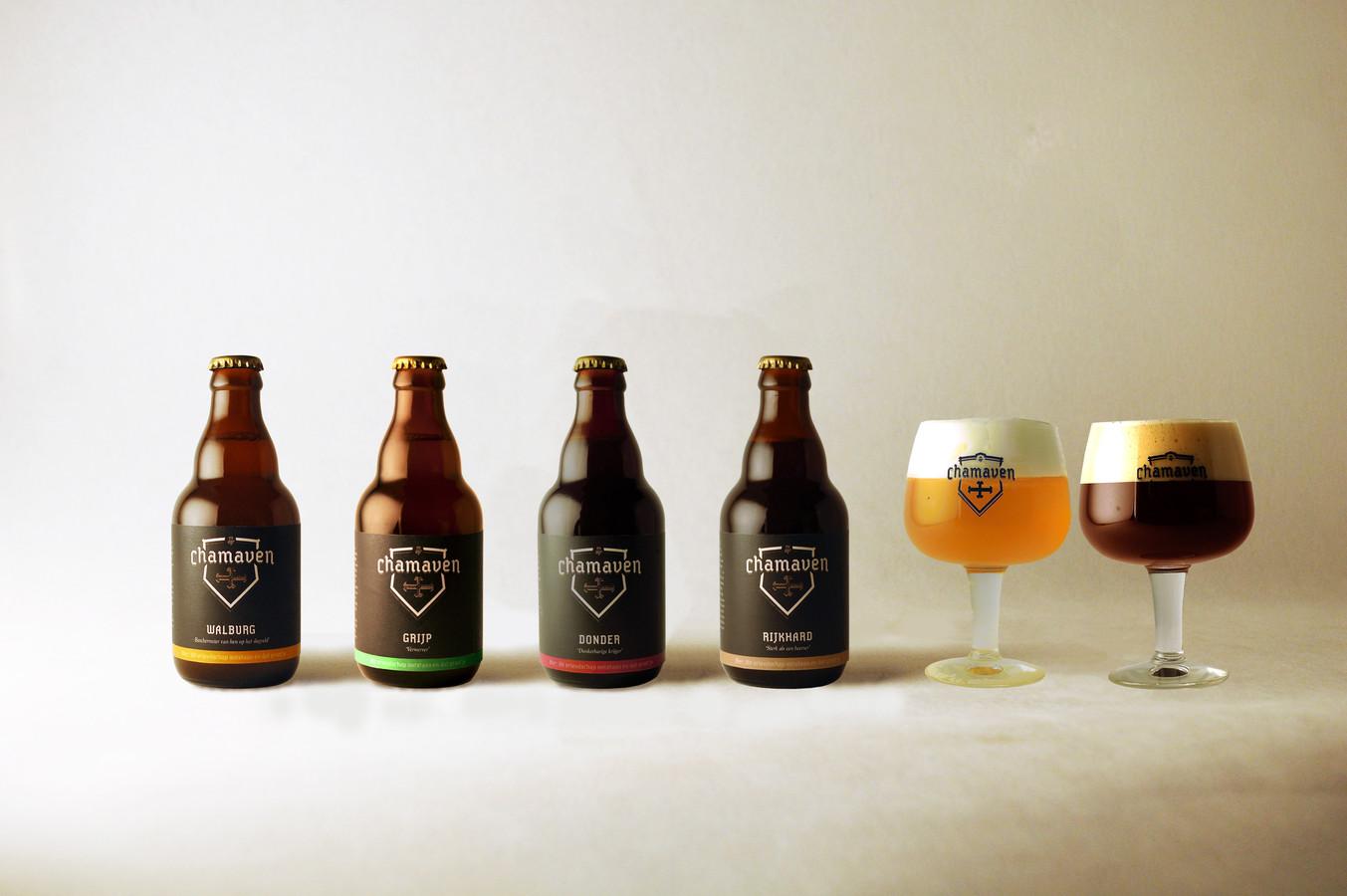 De biertjes die worden gebrouwen door het Zutphense Chamaven