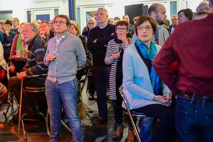 Verkiezingsavond in Nuenen.