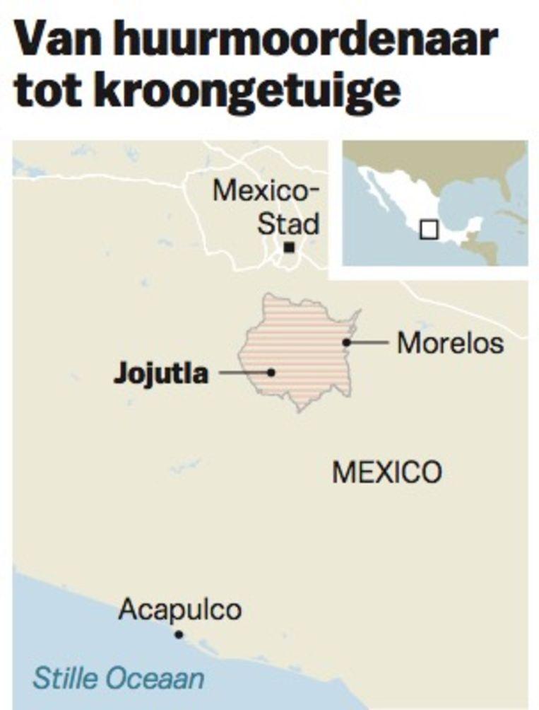 Het aantal moorden in Mexico is in twintig jaar niet zo hoog geweest als nu. Beeld NYT © JG/HET PAROOL