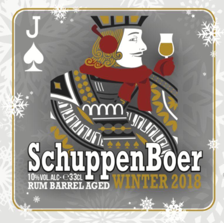 Schuppenboer was het eerste bier dat Het Nest ooit gebrouwen heeft.