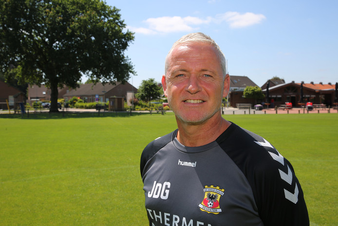Jack de Gier, trainer van Go Ahead Eagles.