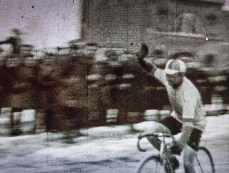 Een koers in Westouter in de jaren 40.