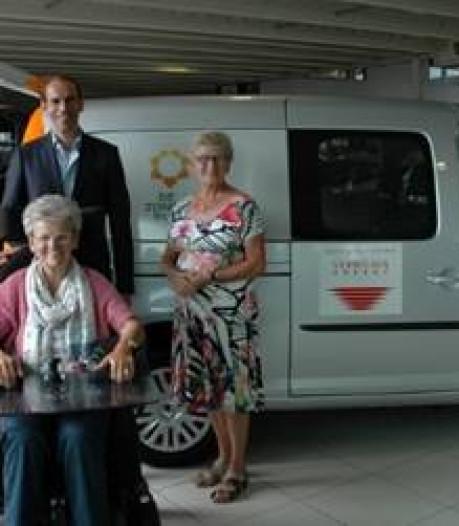 Zonnebloemauto Waalwijk gemiddeld om de andere dag en route