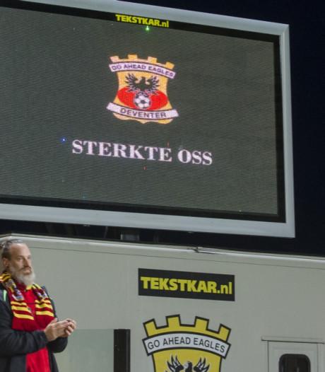 Deventer eerbetoon voor slachtoffers Oss bij GA Eagles-Jong Ajax
