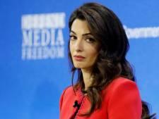 Amal Clooney démissionne d'un rôle d'envoyée spéciale pour le Royaume-Uni