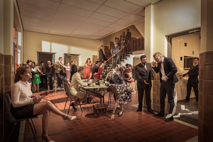 The MusiCompany stond in november met de musical 'how to succeed' op de planken van de Maagd.