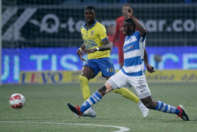 De Graafschap-middenvelder Azor Matusiwa voetbalt vanaf komend seizoen bij FC Groningen.