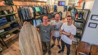 Surfshop SnapperX versterkt Korte Steenstraat