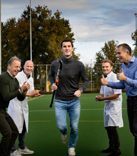 Van fitte tophockeyer tot hartpatiënt: Marcel Balkestein (38) wordt intensief begeleid door medisch team
