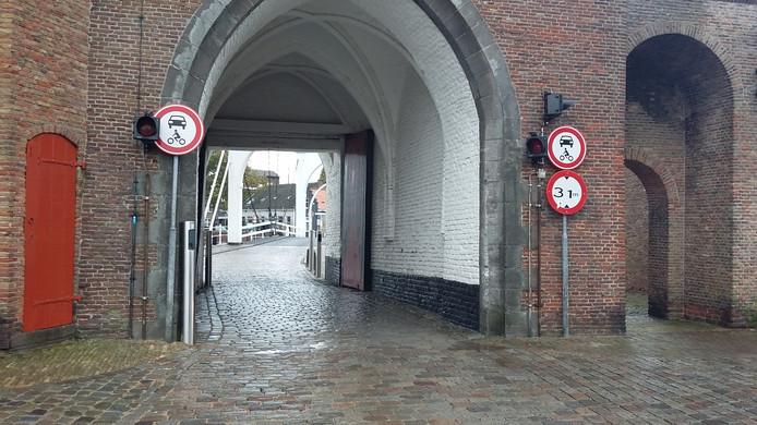 De Zuidhavenpoort in Zierikzee was zaterdag open