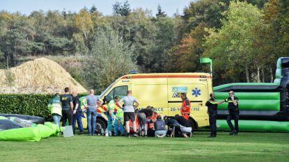 Ernstig ongeluk met springkussen in Nederland: twee kinderen gewond