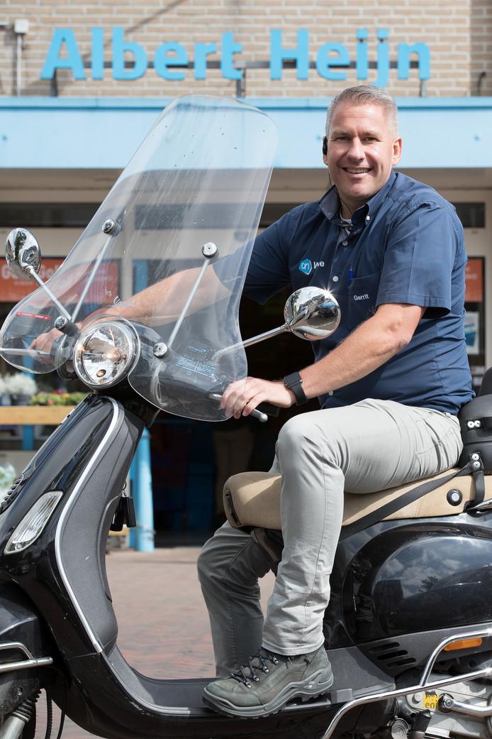 Gerrit Boomgaard, eigenaar van de AH-vestiging in Wijhe