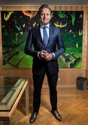 Den Haag Zorgminister Hugo de Jonge  Locatie: Ministerie van VWS, Parnassusplein 5,  Schilderijen van zijn broer  hangen op zijn kantoor. Foto: Arie Kievit