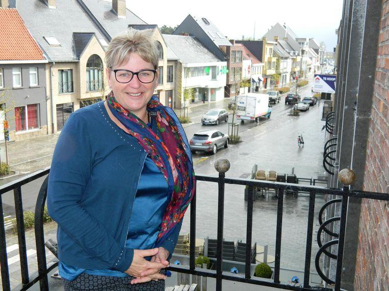 Burgemeester van Waarschoot, Ann Coopman.