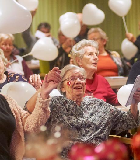Valentijnsdag in Volkel: 'Waar mensen zingen, wordt geen ruzie gemaakt'