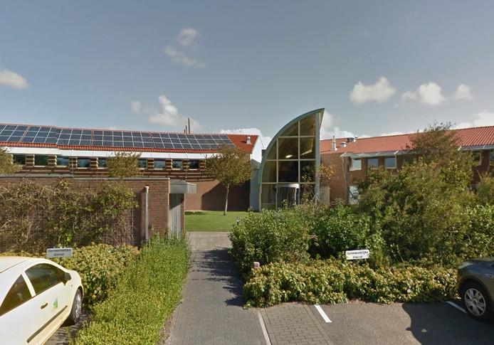 Het gemeentehuis in Domburg