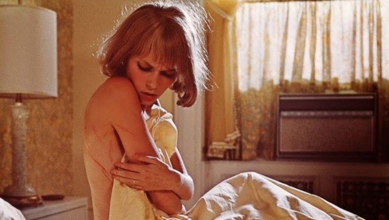 Mia Farrow in Rosemary's Baby van Roman Polanski. Beeld .