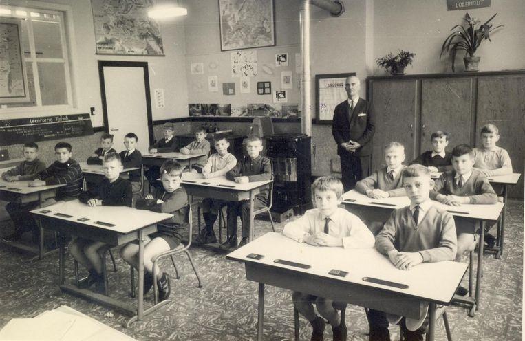Een oude klasfoto uit 1957...