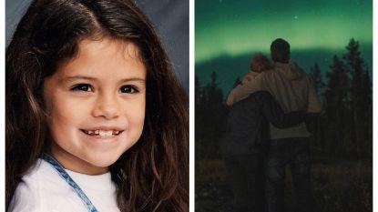 SHOWBITS. Selena Gomez deelt een foto uit de oude doos en weet jij welke BV van het licht in Lapland geniet?