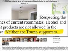 Anti-Trumpclausule duikt op in Amerikaanse woningadvertenties