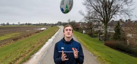 Rugbyer Reinier Pieters uit Ammerzoden wil vaste kracht in Oranje worden