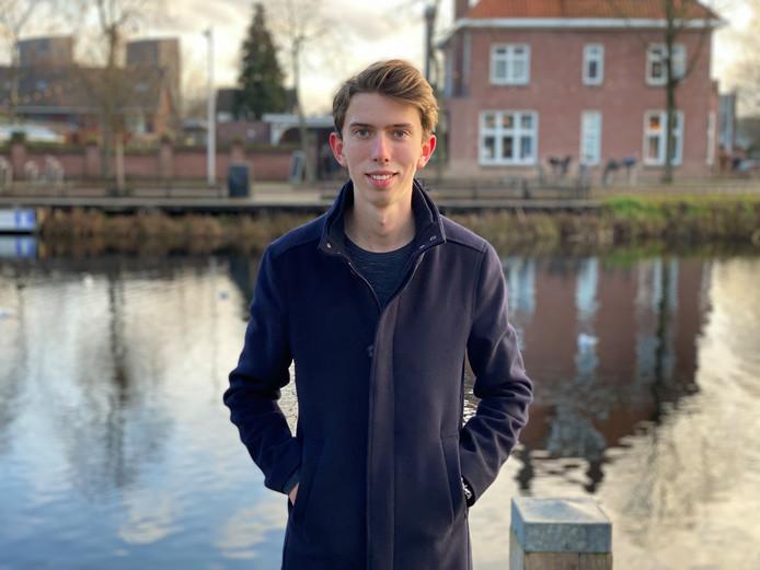 Teun Verschuren (19) is student en runt twee bedrijven.