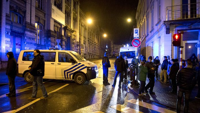 De anti-terreuroperatie gisteravond in België.