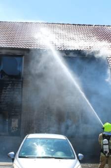 Brand in woningen Ireneplaats Hellevoetsluis