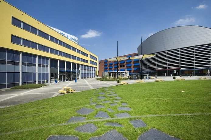 De campus van de HAN in Arnhem.