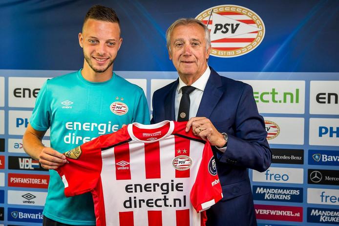 Bart Ramselaar en Mister PSV Willy van der Kuijlen.