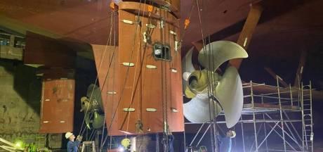 Team van Damen-specialisten vervangt het roer van dertig jaar oude Britse ferry