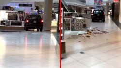 22-jarige rijdt met auto door winkelcentrum. Omstaanders overmeesteren hem