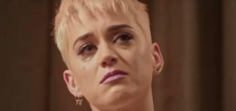 Katy Perry in tranen op tv: Ik schaam me