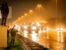 Megafile door boerenprotest op A12, ook A28 loopt vol