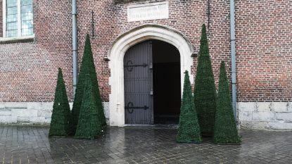Kerstmarkt en Baekelandt Corrida palmen centrum in