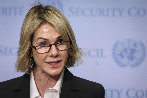 VS-ambassadeur voor de Verenigde Naties Kelly Craft.