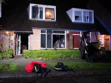 Brand verwoest woonkamer van huis in Olst