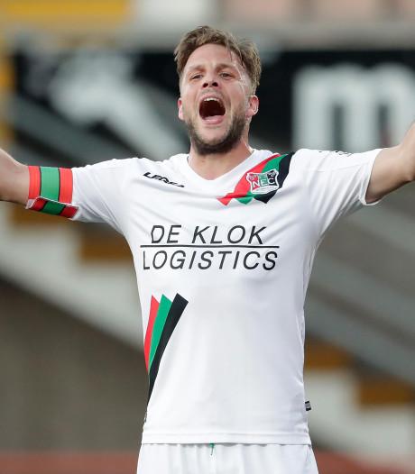 NEC-aanvoerder Joey van den Berg opnieuw geschorst
