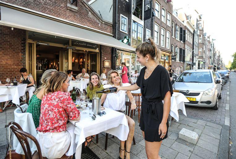 Café Parlotte, Westerstraat 182. Beeld Eva Plevier