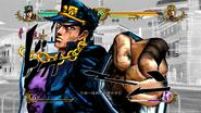 Vechten met tegenzin in 'Jojo's Bizarre Adventure: All Star Battle'