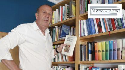 """Kurt Van Eeghem is verslaafd aan lezen, maar nóg meer aan boeken kopen: """"Ik móet er soms wel wegdoen, ik krijg van m'n man geen nieuwe rekken meer"""""""