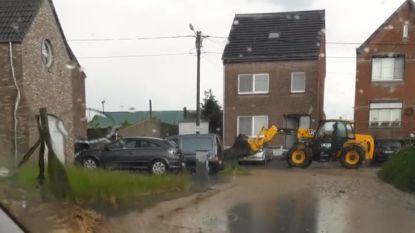 Felle regen van mei erkend als ramp: 500.000 euro hagelschade bij fruittelers