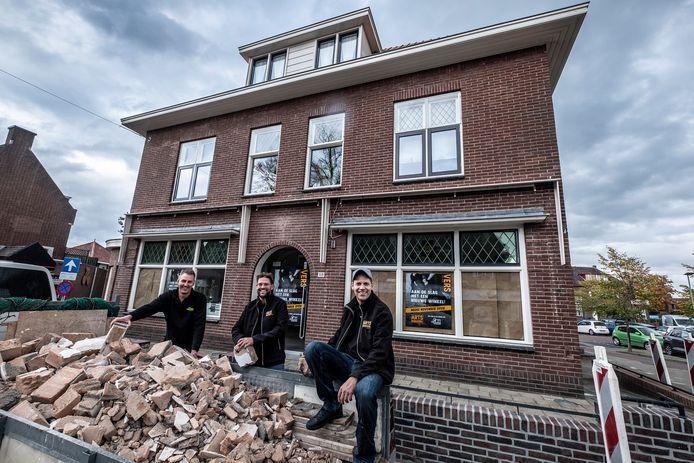 De broers Sjoerd en Job Arts werken samen met Jamie Cox aan een nieuwe verswinkel, die in november opent in het beeldbepalende pand de Tulakker.