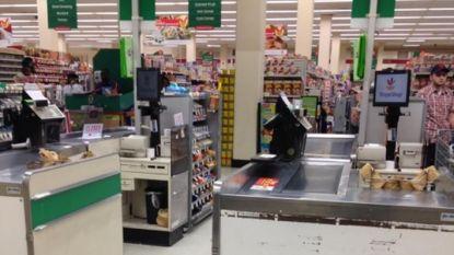 Winkeldief met hartziekte sterft nadat personeel supermarkt hem tegen grond werkt en op hem gaat zitten