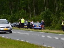 Vijf auto's botsen op de N307 in Dronten