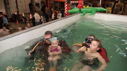 Kinderen gaan zondag kopje onder op open dag van de brandweer