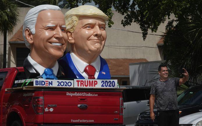 Trump en Biden mogen pas reclames op Facebook plaatsen wanneer de officiële uitslag van de verkiezingen is gedeeld door Reuters en het National Election Pool (NEP), een collectief van Amerikaanse nieuwsmedia.