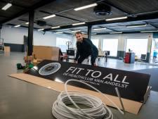 Thijs is voor corona niet bang, hij opent dit weekend zijn sportschool in Andelst