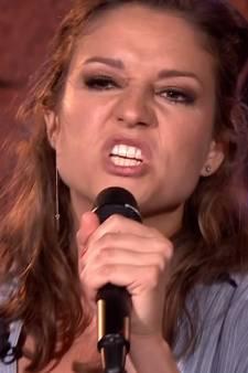 Operaster Maria overspoeld met lof na rapoptreden: 'Leef op roze wolk'